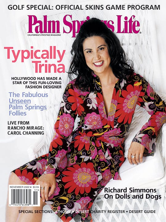 Palm Springs Life magazine - November 2002