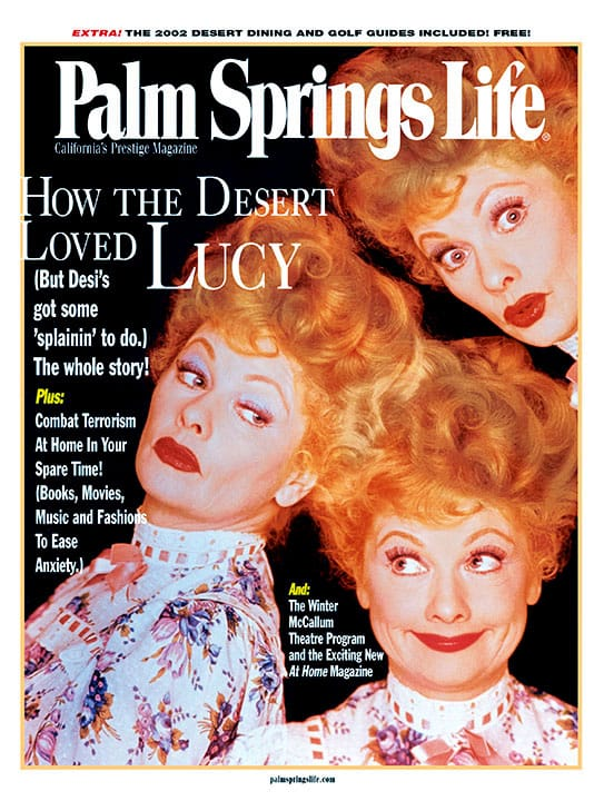 Palm Springs Life magazine - January 2002