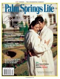 Palm Springs Life magazine - April 2001
