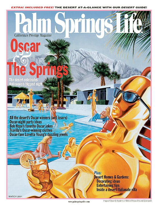 Palm Springs Life magazine - March 2001