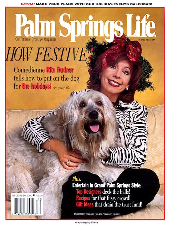 Palm Springs Life magazine - December 2000