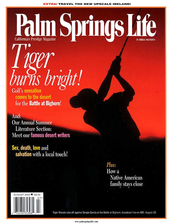 Palm Springs Life magazine - August 2000