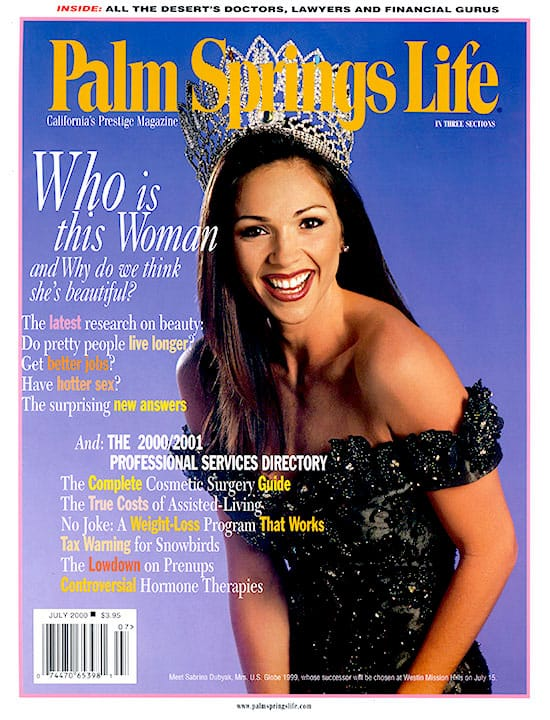 Palm Springs Life magazine - July 2000