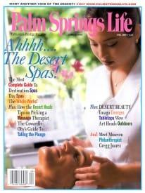 Palm Springs Life magazine - April 2000