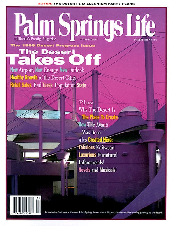 Palm Springs Life magazine - October 1999