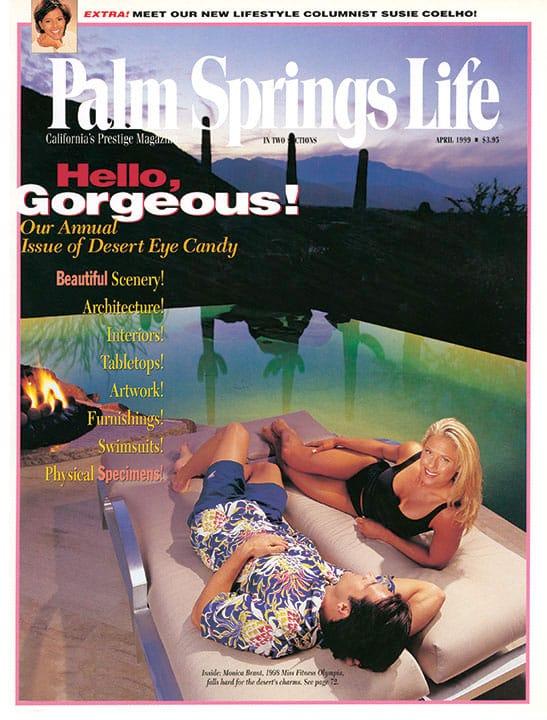 Palm Springs Life magazine - April 1999