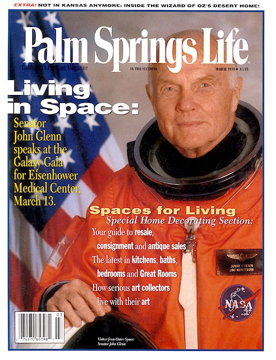 Palm Springs Life magazine - March 1999