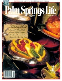 Palm Springs Life magazine - December 1998