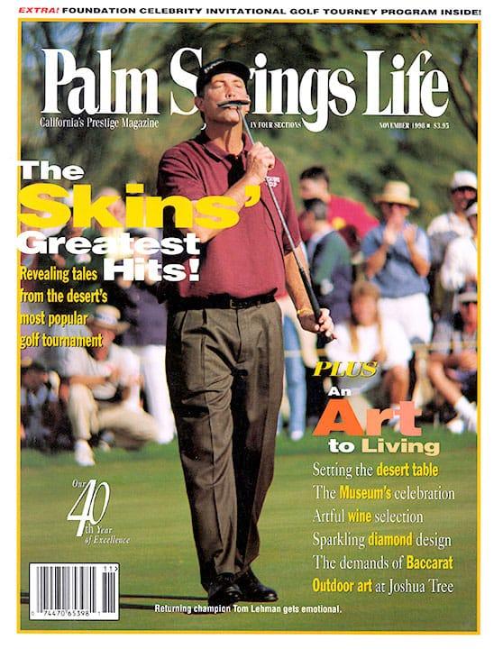 Palm Springs Life magazine - November 1998