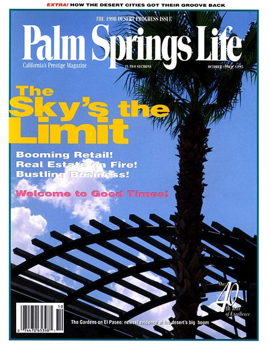 Palm Springs Life magazine - October 1998