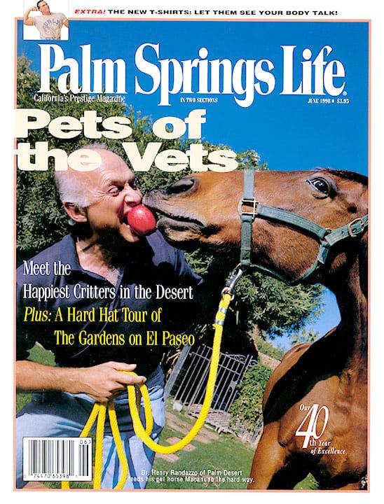 Palm Springs Life magazine - June 1998