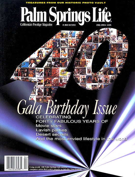 Palm Springs Life magazine - April 1998