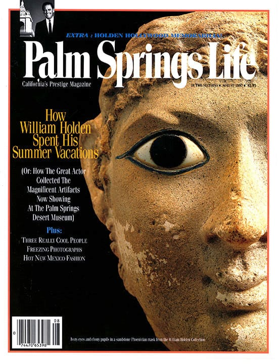 Palm Springs Life magazine - August 1997
