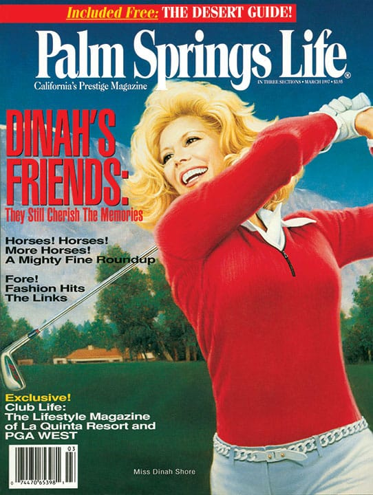 Palm Springs Life magazine - March 1997