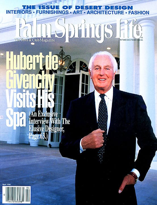 Palm Springs Life magazine - April 1996