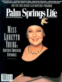 Palm Springs Life magazine - December 1995