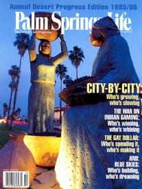 Palm Springs Life magazine - October 1995