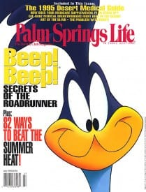 Palm Springs Life magazine - July 1995