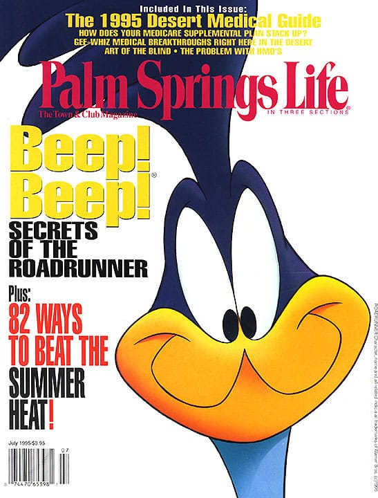 Palm Springs Life magazine - July 1995