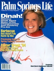 Palm Springs Life magazine - March 1994