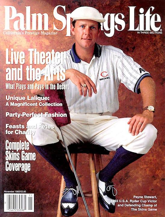 Palm Springs Life magazine - November 1993