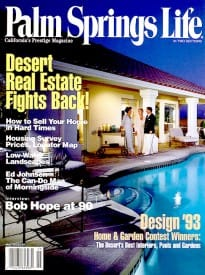 Palm Springs Life magazine - May 1993