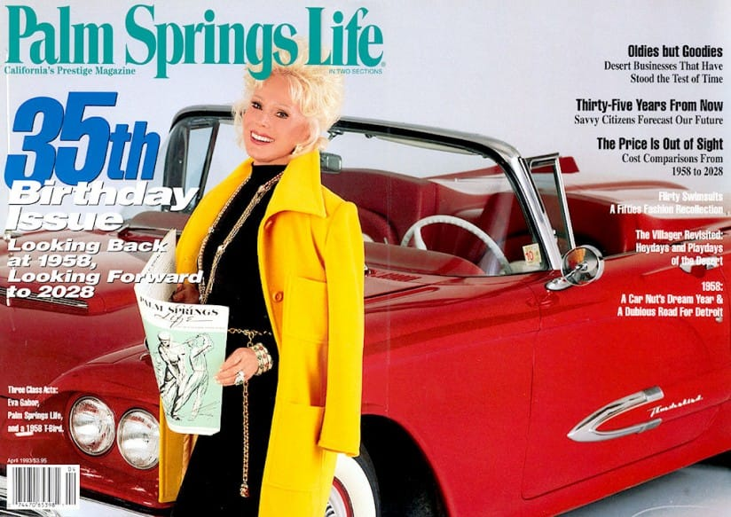 Palm Springs Life magazine - April 1993