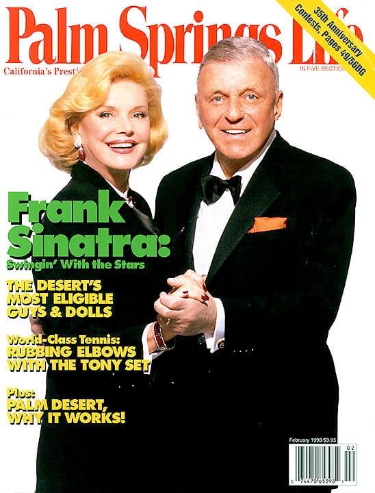 Palm Springs Life magazine - February 1993