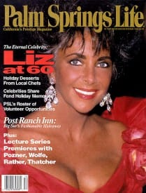 Palm Springs Life magazine - December 1992