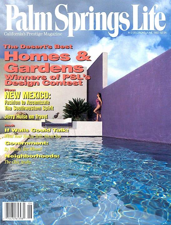 Palm Springs Life magazine - June 1992