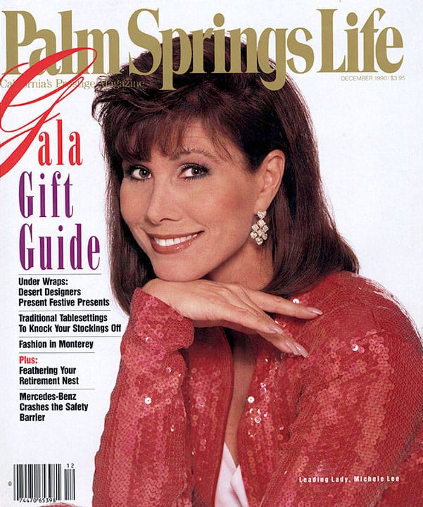 Palm Springs Life magazine - December 1990