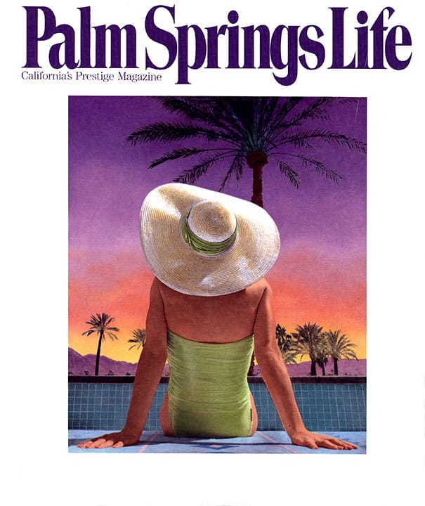 Palm Springs Life magazine - September 1990