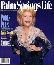 Palm Springs Life magazine - August 1990