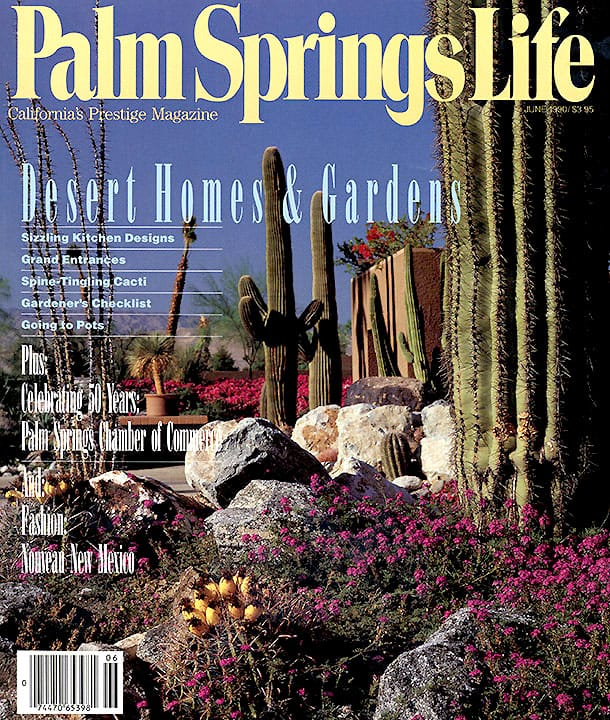 Palm Springs Life magazine - June 1990