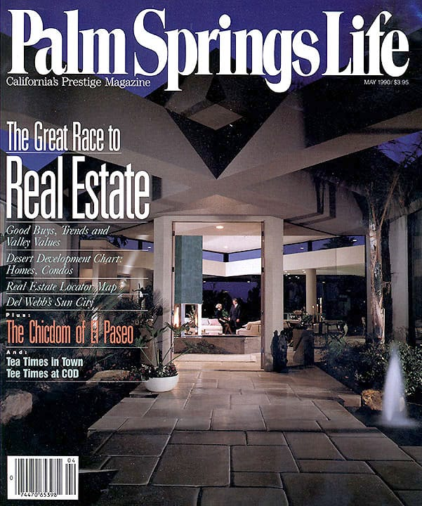 Palm Springs Life magazine - May 1990