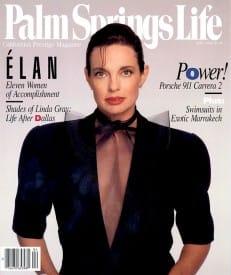 Palm Springs Life magazine - April 1990