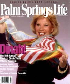 Palm Springs Life magazine - March 1990