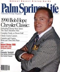 Palm Springs Life magazine - January 1990