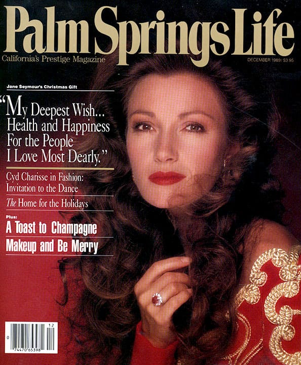 Palm Springs Life magazine - December 1989
