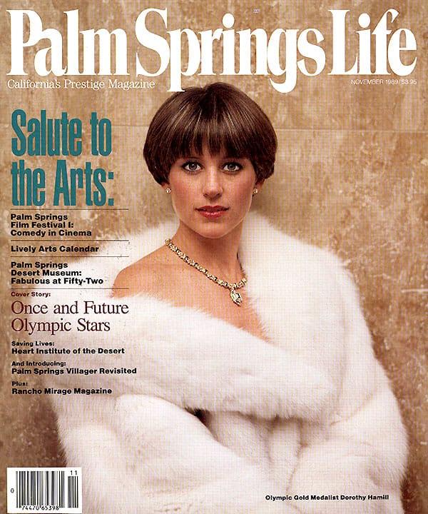 Palm Springs Life magazine - November 1989