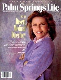 Palm Springs Life magazine - July 1989