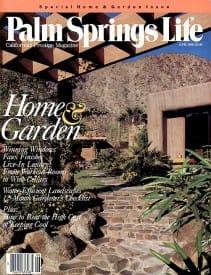 Palm Springs Life magazine - June 1989