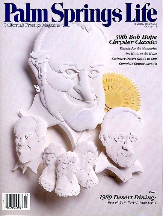 Palm Springs Life magazine - January 1989