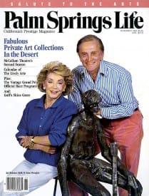 Palm Springs Life magazine - November 1988