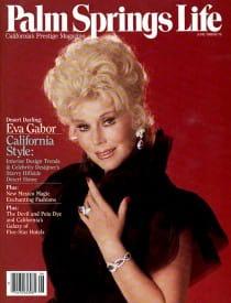 Palm Springs Life magazine - June 1988