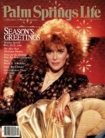 Palm Springs Life magazine - December 1987