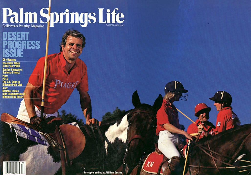 Palm Springs Life magazine - October 1987