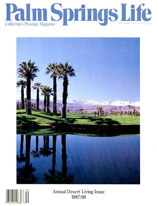 Palm Springs Life magazine - September 1987