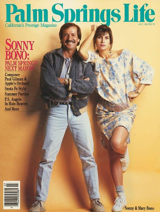 Palm Springs Life magazine - July 1987