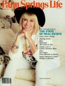 Palm Springs Life magazine - May 1987